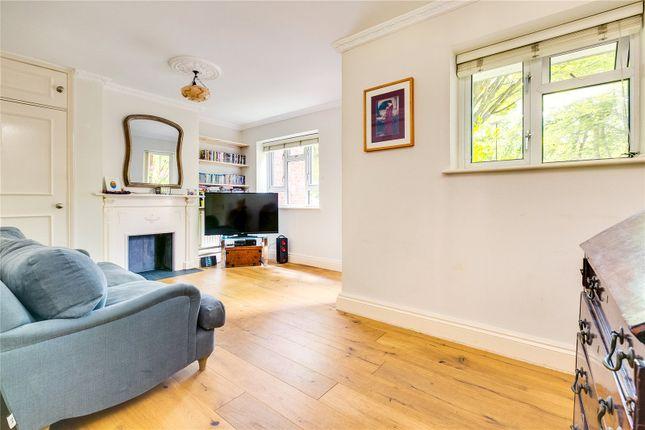 Living Room of Edensor Gardens, London W4
