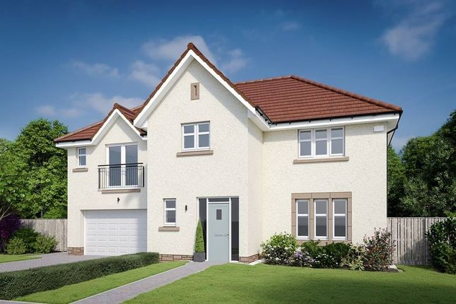 "Thumbnail Detached house for sale in ""The Kennedy"" at Dalmahoy Crescent, Balerno"