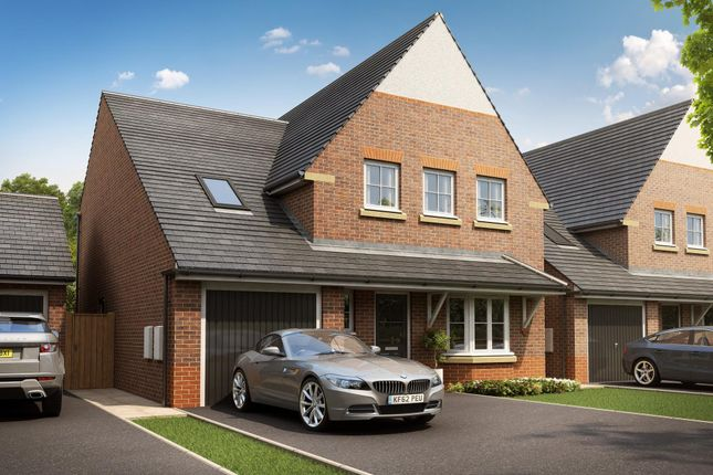 "Thumbnail Detached house for sale in ""Harborough"" at Rykneld Road, Littleover, Derby"