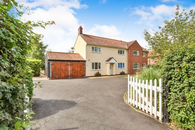 Thumbnail Detached house for sale in Norwich Road, Tacolneston, Norwich
