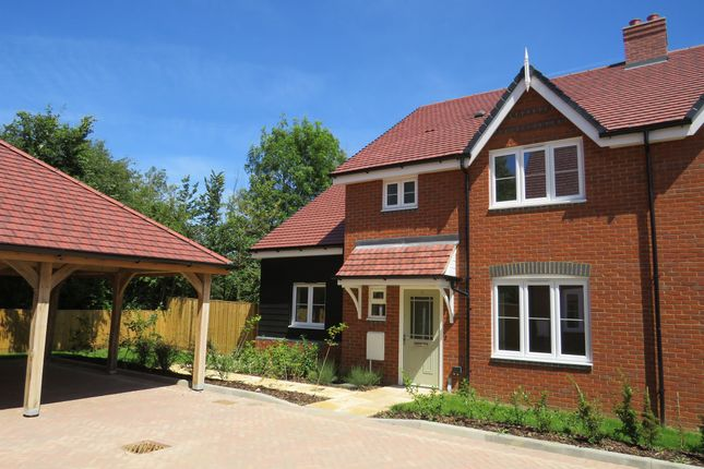 Thumbnail Semi-detached house for sale in Low Meadow, Brook End, Weston Turville