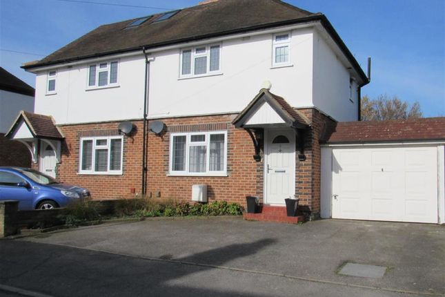Thumbnail Semi-detached house for sale in St Andrews Road, Carshalton, Surrey