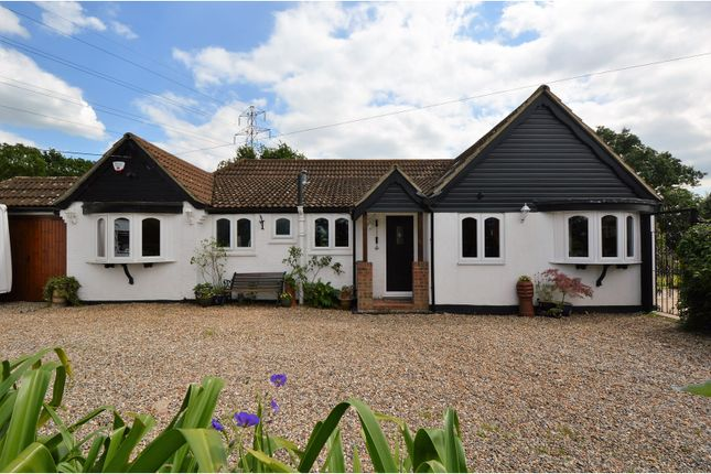 Thumbnail Detached bungalow for sale in Billericay Road, Brentwood