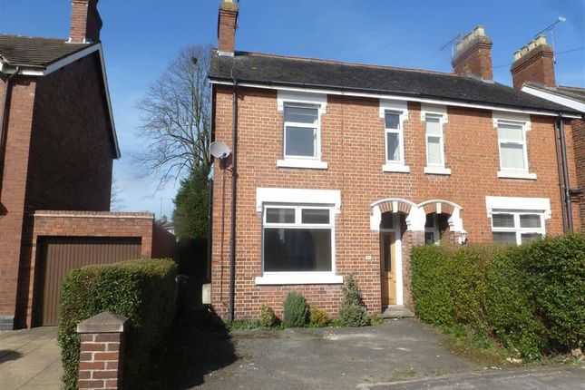 Thumbnail Semi-detached house to rent in Crewe Road, Alsager, Stoke-On-Trent