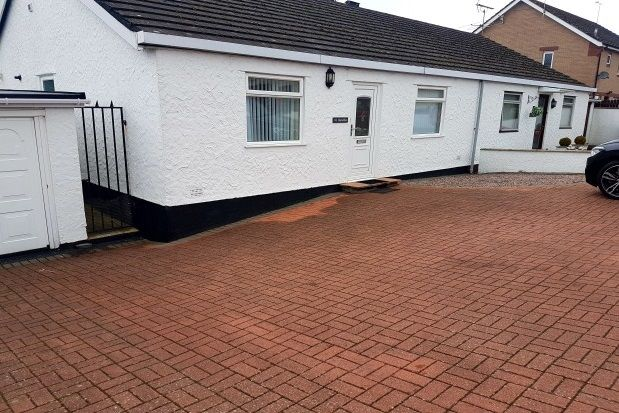 Thumbnail Detached bungalow to rent in Stad Ty Croes, Llanfairpwllgwyngyll