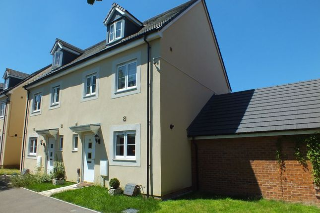 Thumbnail Semi-detached house to rent in Bechstein Meadow, Paxcroft Mead, Trowbridge, Wiltshire
