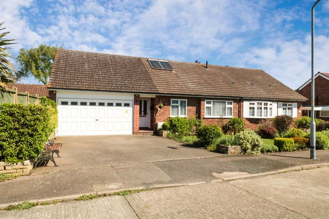 Thumbnail Semi-detached bungalow for sale in Arundel Close, Cheshunt, Waltham Cross