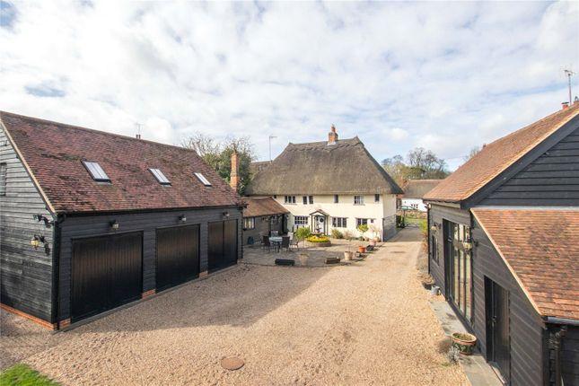 Thumbnail Detached house for sale in Middle Street, Clavering, Nr Saffron Walden, Essex