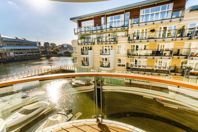 Thumbnail Flat to rent in Marina Place, Hampton Wick