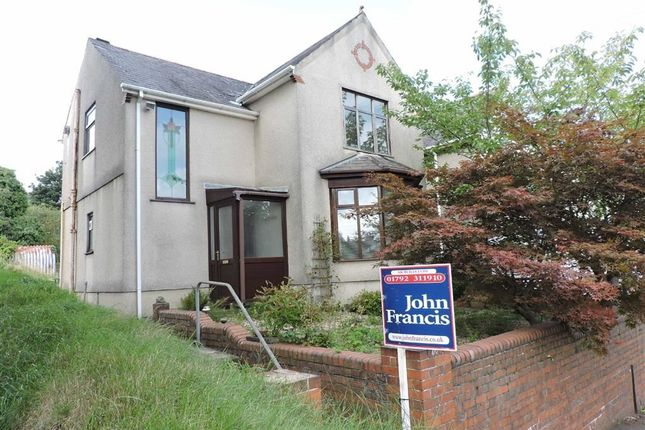 Thumbnail Detached house for sale in Clydach Road, Ynysforgan, Swansea