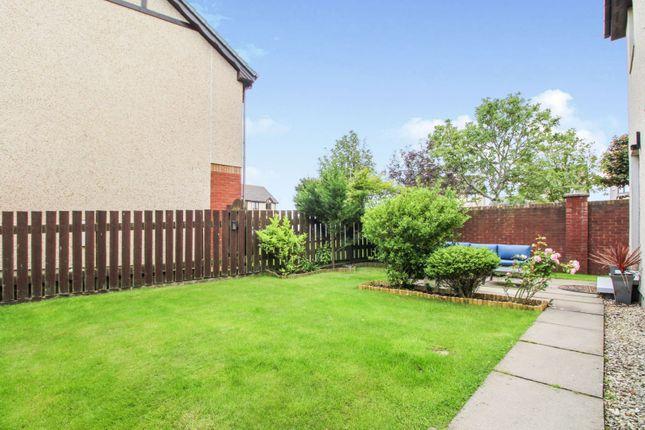 Rear Garden of Creel Drive, Cove, Aberdeen AB12