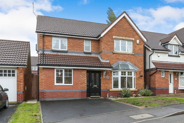 Thumbnail Detached house for sale in Tiverton Drive, West Bromwich