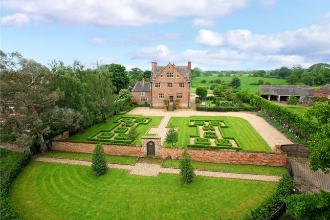 Thumbnail Detached house for sale in Burton, Tarporley, Cheshire