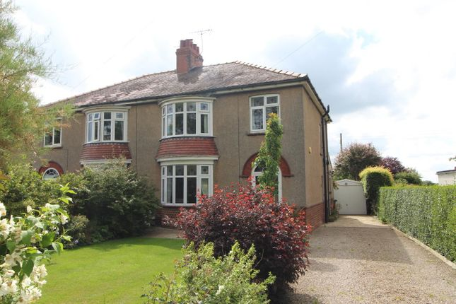 Thumbnail Semi-detached house for sale in Station Road, Thirsk