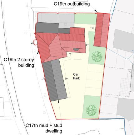 Thumbnail Land for sale in Silver Street, Coningsby