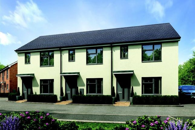 Thumbnail End terrace house for sale in Harold Hines Way, Trrentham Lakes, Stoke-On-Trent