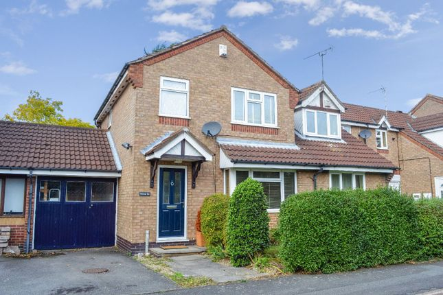 Thumbnail 3 bed town house for sale in Pendlebury Drive, West Knighton, Leicester