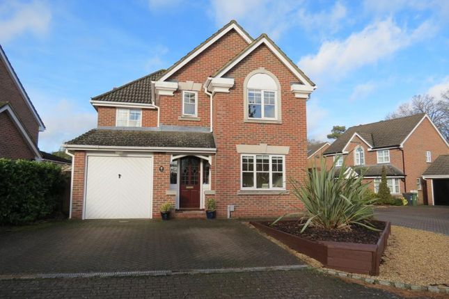 Thumbnail Detached house to rent in Ramsay Close, Camberley