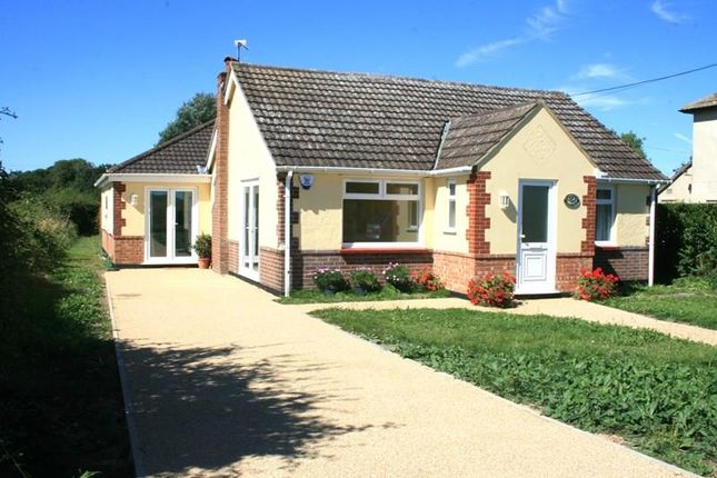 Thumbnail Detached bungalow for sale in Clacton Road, Stones Green, Harwich
