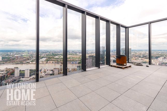Thumbnail Flat for sale in South Quay Plaza Penthouse, Hampton Tower, Canary Wharf