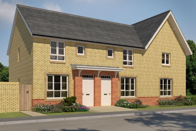 """Thumbnail Semi-detached house for sale in """"Forbes 1"""" at Manse Road, Stonehouse, Larkhall"""