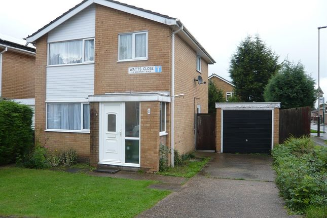 Thumbnail Detached house for sale in Watts Close, Off Anstey Lane, Leicester
