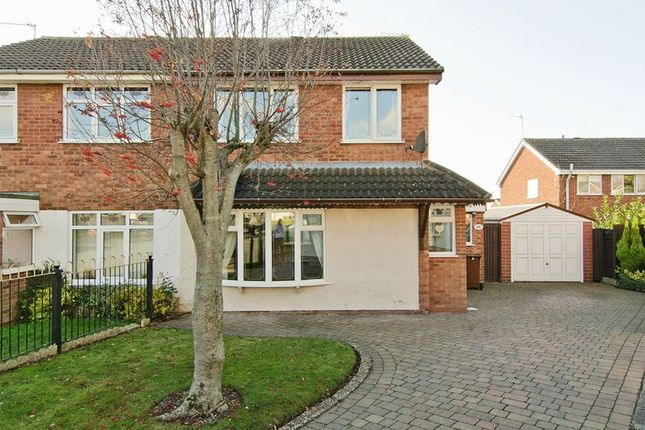 Thumbnail Semi-detached house to rent in Foxhill Close, Heath Hayes, Cannock