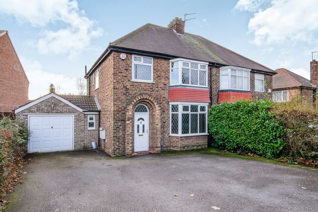 Thumbnail Semi-detached house for sale in Thorne Road, Wheatley Hills, Doncaster