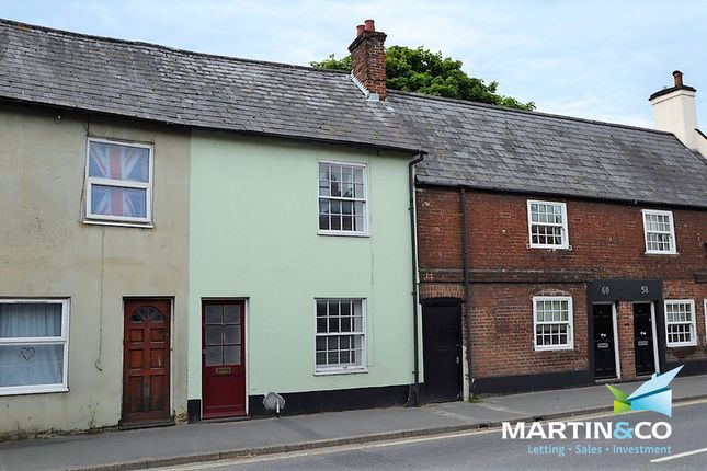 Thumbnail Terraced house for sale in Christchurch Road, Ringwood