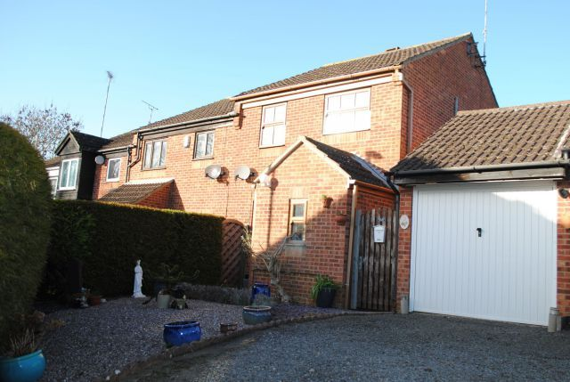 Thumbnail End terrace house for sale in Redland Drive, Kingsthorpe, Northampton