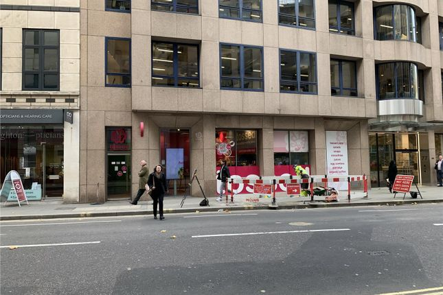 Retail premises to let in Leadenhall Street, London, Greater London