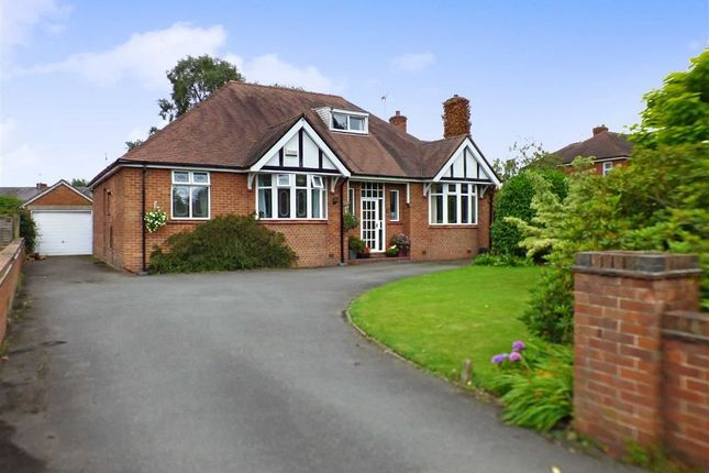 Thumbnail Detached bungalow for sale in Offley Road, Sandbach