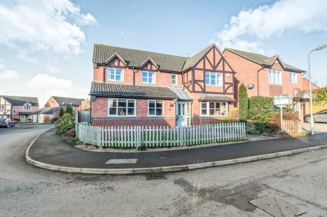 Thumbnail Detached house for sale in Perch Road, Broomhall, Worcester, Worcestershire