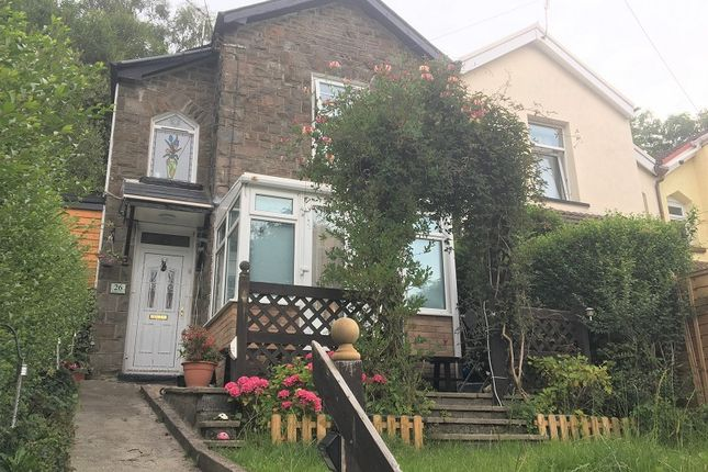 2 bed semi-detached house for sale in Pleasant View, Pentre, Rhondda Cynon Taff. CF41