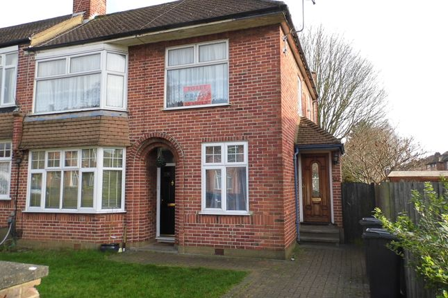 Thumbnail Maisonette to rent in Inverness Avenue, Enfield