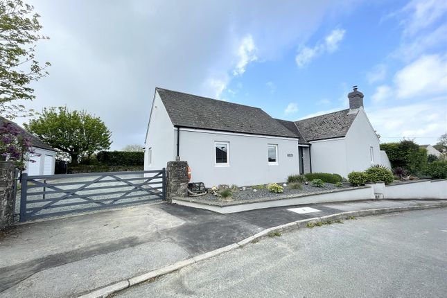 Thumbnail Detached bungalow for sale in Meadow Park, Burton, Milford Haven