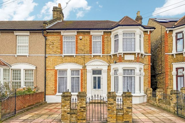 Thumbnail End terrace house for sale in Melbourne Road, Ilford