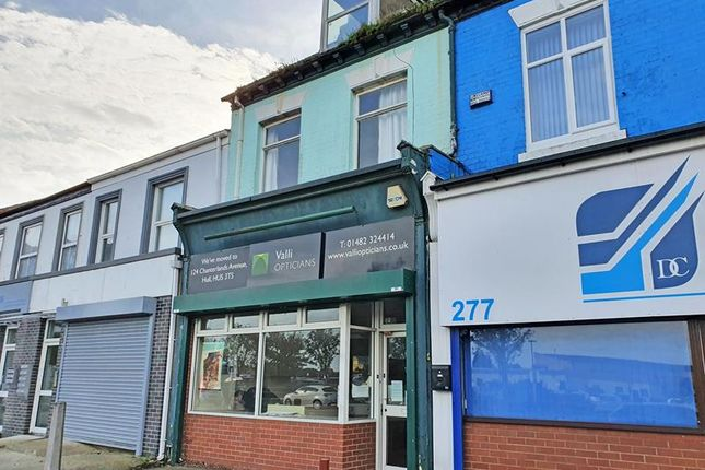 Thumbnail Retail premises for sale in Anlaby Road, Hull