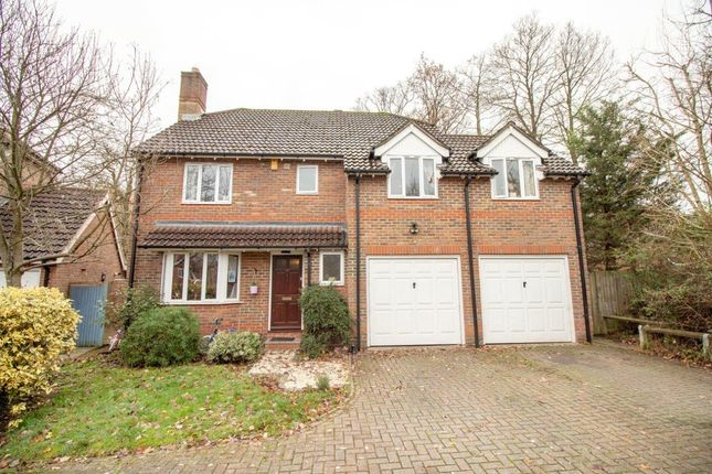 Thumbnail Detached house for sale in Clere Gardens, Chineham, Basingstoke