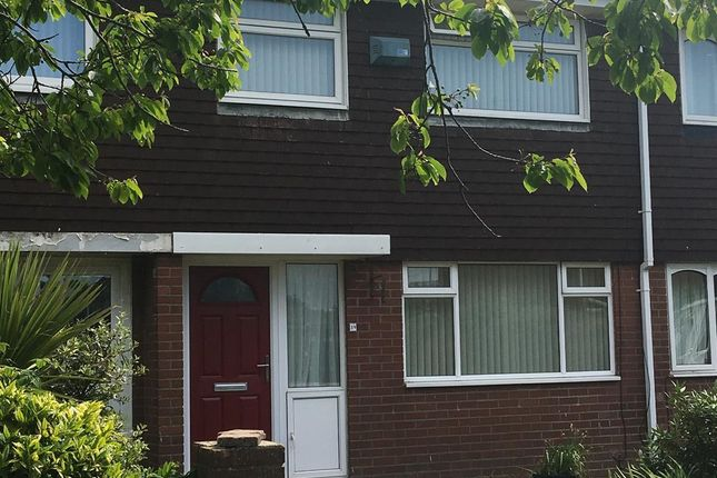 Thumbnail Terraced house to rent in Plover Close, Blyth