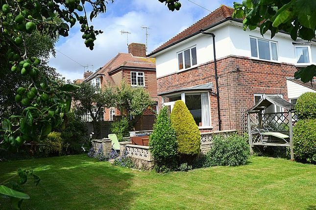Thumbnail Detached house for sale in Rose Walk, Goring-By-Sea, Worthing
