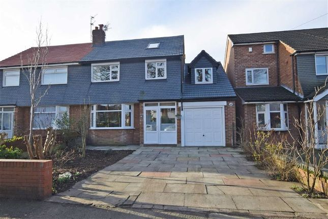 Thumbnail Semi-detached house for sale in Broadoak Lane, East Didsbury, Manchester