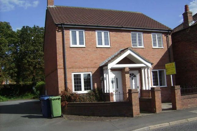 Thumbnail Semi-detached house to rent in The Terrace, Church Street, Wragby, Market Rasen