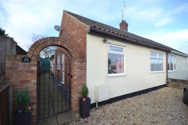 Thumbnail Bungalow for sale in Oval Road, New Costessey, Norwich