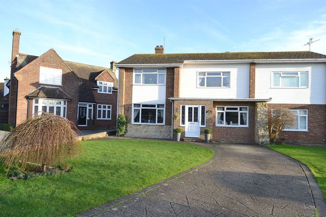 Semi-detached house for sale in Bennells Avenue, Tankerton, Whitstable
