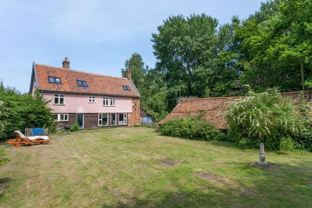 Thumbnail Detached house for sale in The Common, Dunston, Norwich
