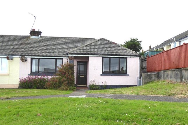 Thumbnail Bungalow to rent in College Park, Milford Haven, Pembrokeshire