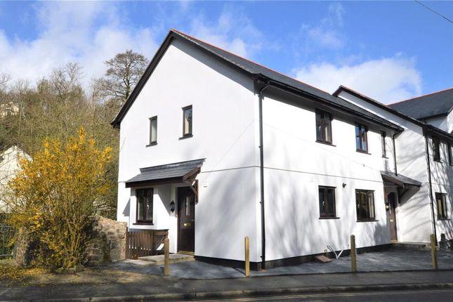 Thumbnail End terrace house for sale in Castle Road, Okehampton, Devon