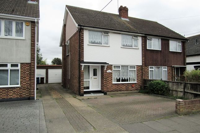 Thumbnail Semi-detached house for sale in First Avenue, Stanford-Le-Hope, Essex.