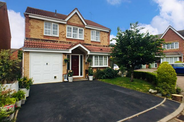 Thumbnail Detached house for sale in Long Brimley Close, Market Harborough, 7